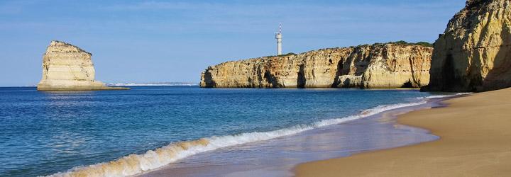 Las playas del Algarve, un espectáculo para los sentidos