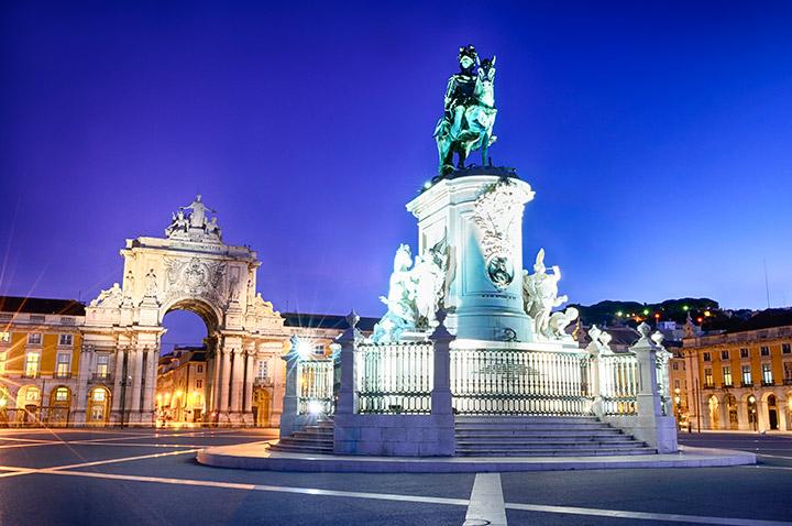 Portugal: Aarco de Augusta en Lisboa