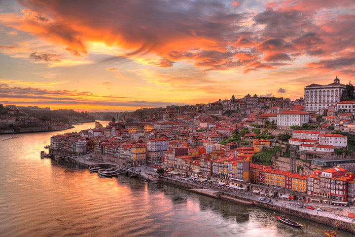 Portugal: Porto en el río Duero